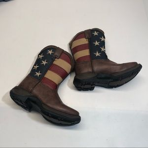 Durango kids Stars and Stripes boots, GUC